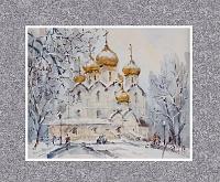Успенский собор, Ярославль. Январь