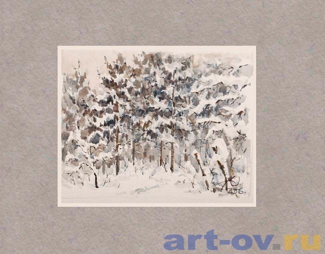 Зимний лес 05