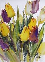 Мартовские тюльпаны
