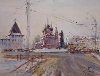 Площадь Богоявления Ярославль