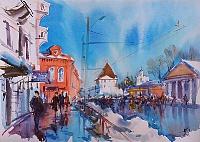 Старый город. Ярославль