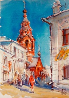 Храм в переулке