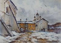 В стенах монастыря 03 Кириллов. Март.