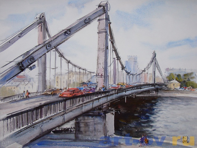 МОСКВА Крымский мост