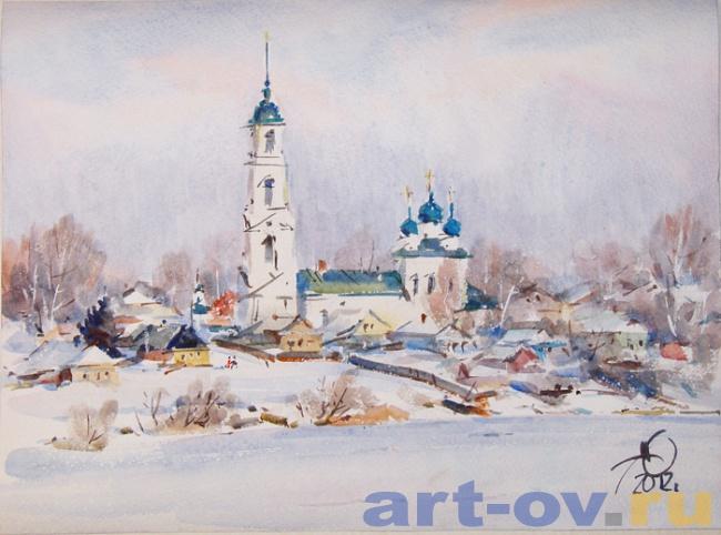 Диево-Городище,  зима